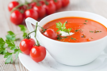 Soupe Tomate lentille corail & Paprika Atelier Popote
