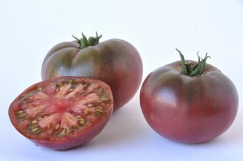 Tomate Cotelée type Ancienne Noire de Crimée