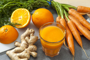 Smoothie Carotte Orange Gingembre Atelier Popote