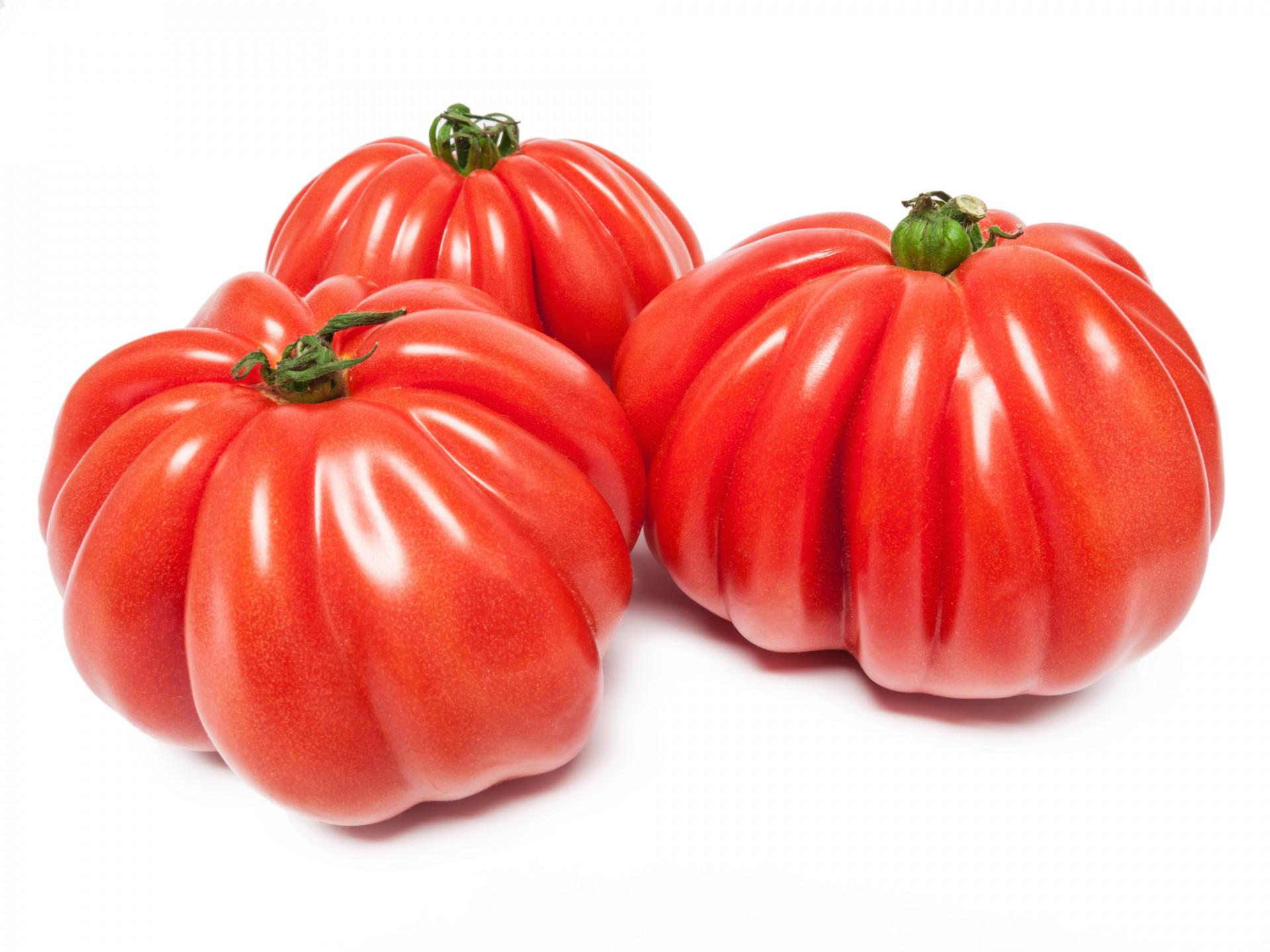 Tomate Cotelée type Ancienne Coeur de Boeuf